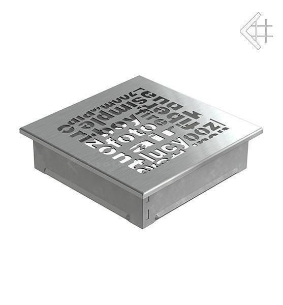 Купить Kratki 17x17 ABC стальная 17ABC/SZ в интернет магазине. Цены, фото, описания, характеристики, отзывы, обзоры