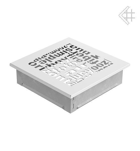 Купить Kratki 17x17 ABC белая 17ABC/B в интернет магазине. Цены, фото, описания, характеристики, отзывы, обзоры