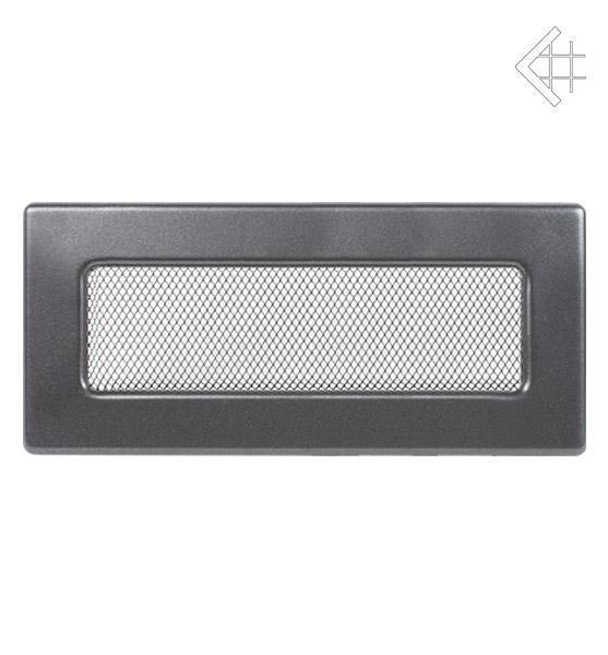 Вентиляционная решетка Kratki 11х32 графитовая 32G фото