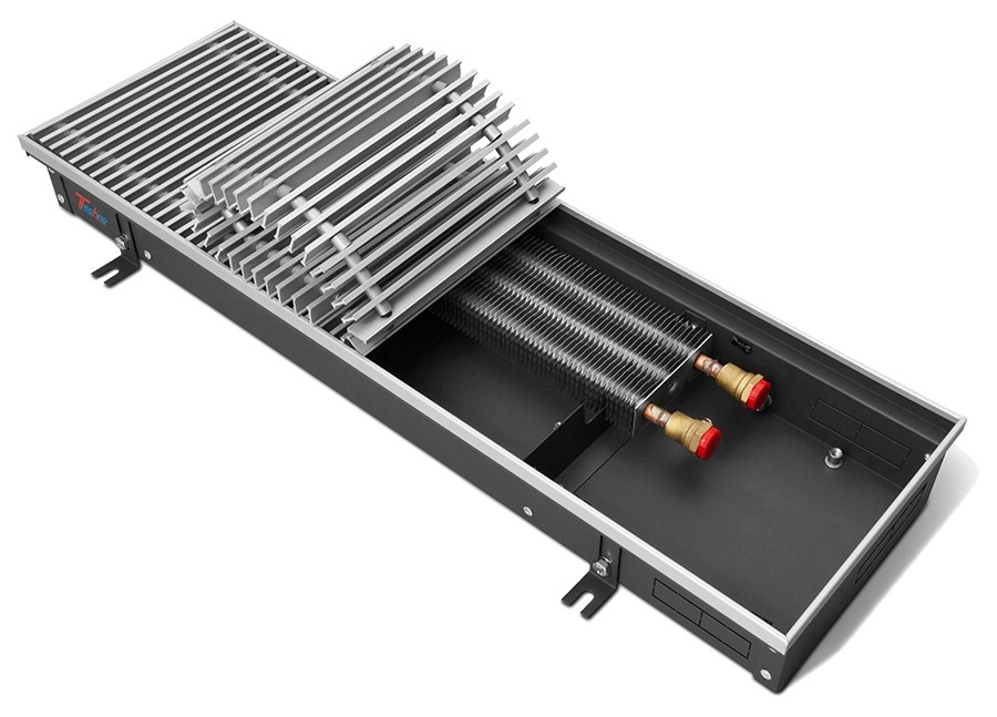 Внутрипольный конвектор Techno Usual KVZ 250-85-1400 фото
