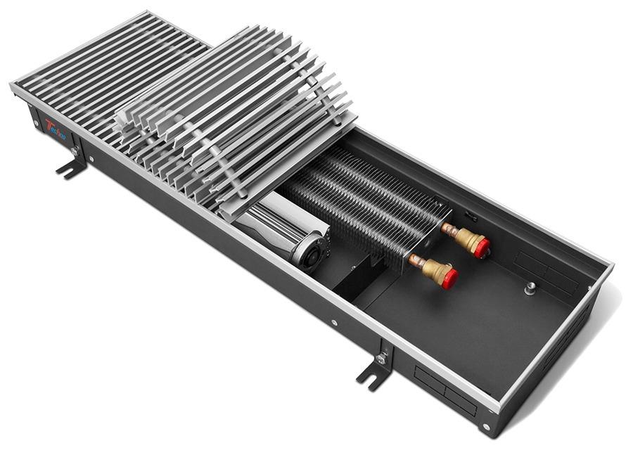 Внутрипольный конвектор Techno Vent KVZV 350-140-1200 фото