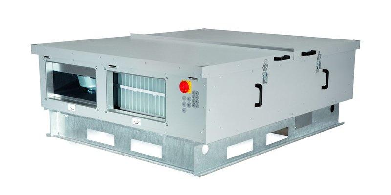 Купить Приточно-вытяжная вентиляционная установка 500 м3/ч 2vv HR95-080EC-CF-HBXX-74RP1 в интернет магазине климатического оборудования