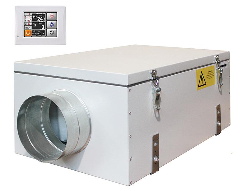 Приточная вентиляционная установка Благовест ФЬОРДИ ВПУ 800 ЕС/12-380/3-GTC
