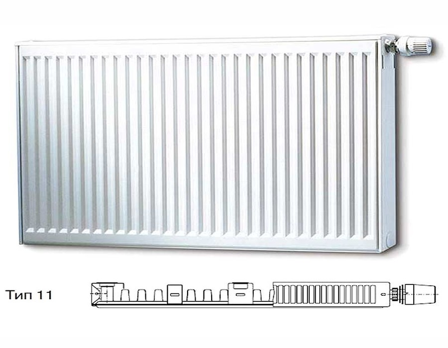 Стальной панельный радиатор Тип 11 Buderus Buderus Радиатор K-Profil 11/500/1200 (24) (A)