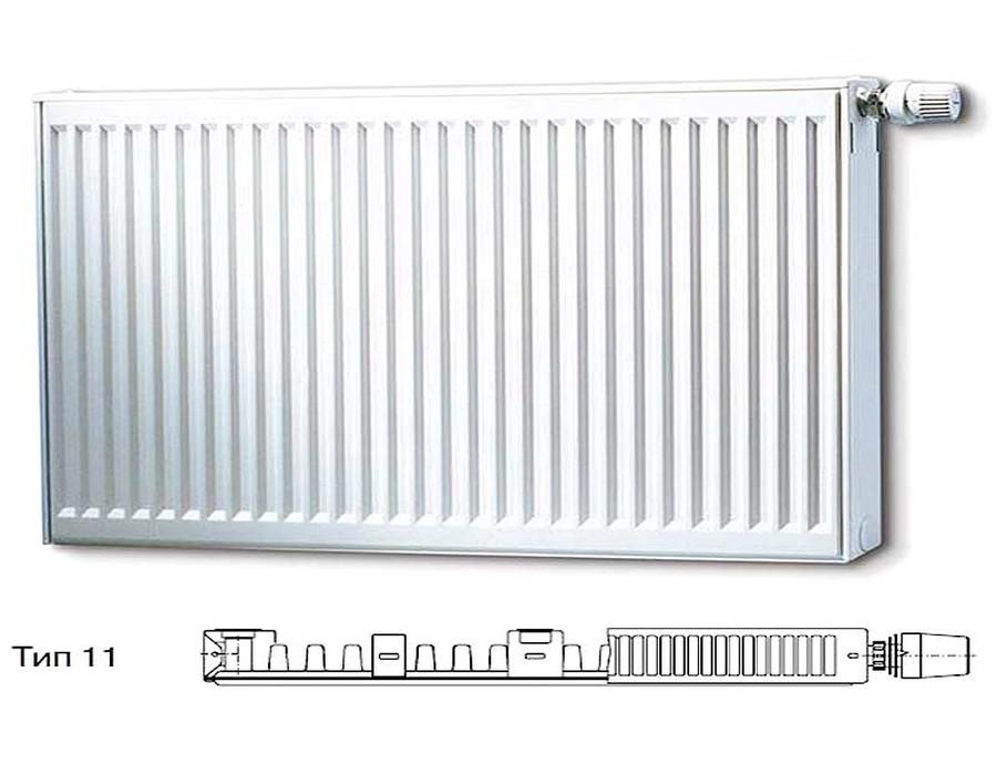 Стальной панельный радиатор Тип 11 Buderus Радиатор K-Profil 11/400/1400 (36) (C) фото