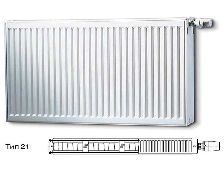 Стальной панельный радиатор Тип 21 Buderus Радиатор K-Profil 21/400/1600 (30) (C) фото