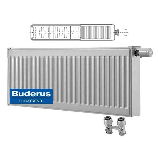 Стальной панельный радиатор Тип 22 Buderus Buderus Радиатор VK-Profil 22/400/400 (48) (C)
