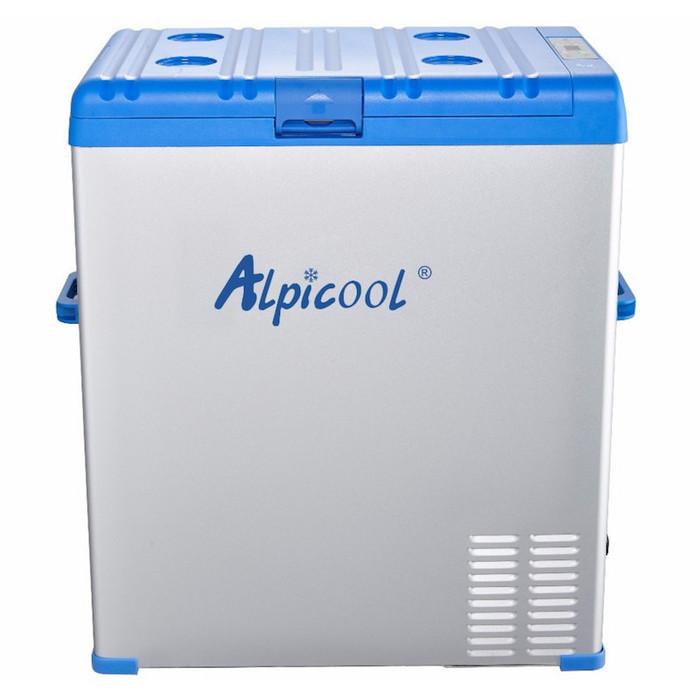 Автохолодильник компрессорный Alpicool A75 (75 л.) 12-24-220В синий фото