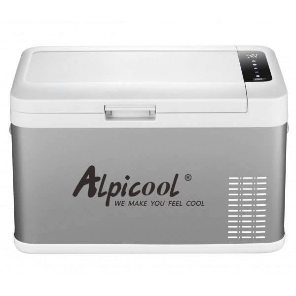 Компрессорный автохолодильник с сенсорным дисплеем Alpicool.