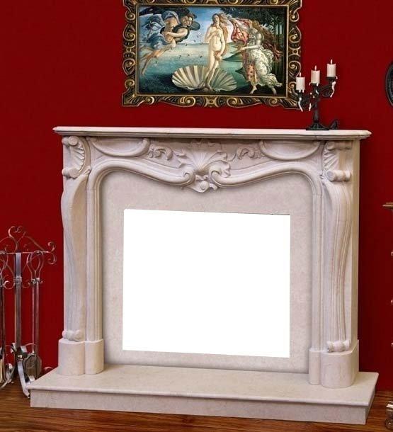 Купить Облицовка для дровяных каминов DeMarco ARABELA Crema marfil в интернет магазине климатического оборудования