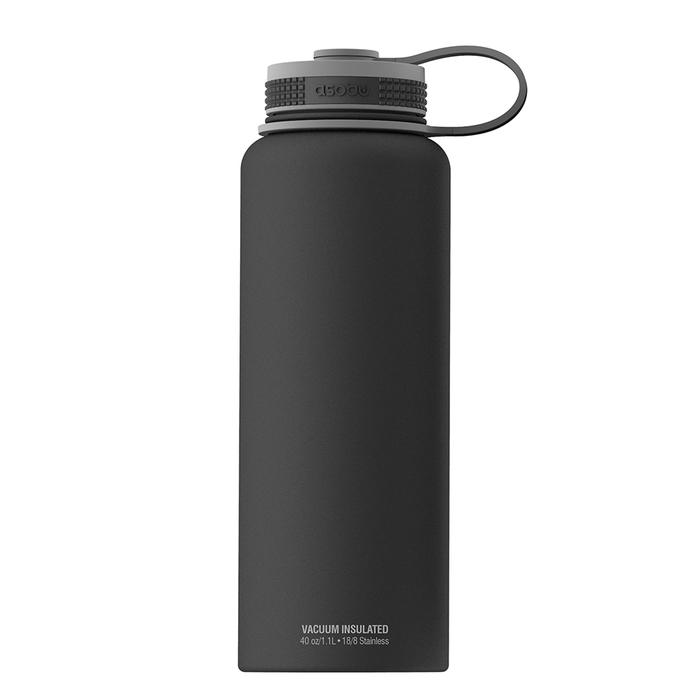 Купить Asobu Mighty flask черная в интернет магазине. Цены, фото, описания, характеристики, отзывы, обзоры