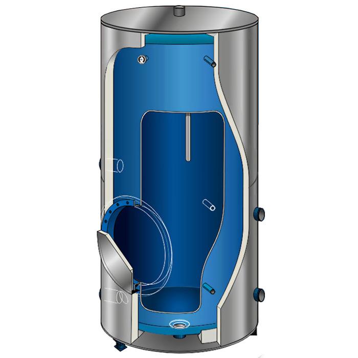 Электрический накопительный вода нагреватель 500 л Atlantic Corhydro 500L фото
