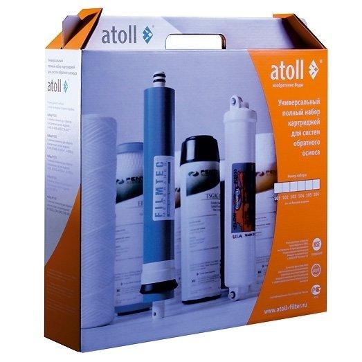 Набор фильтрующих элементов Atoll набор №106m фото