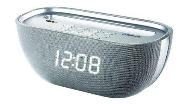 Фото - Часы с будильником BVItech BVItech BV-Q-17WSU проекционные часы bvitech bvitech bv 412bmk