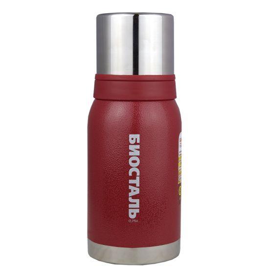 Термос Biostal Biostal Охота (0,75 литра) 2 чашки - красный