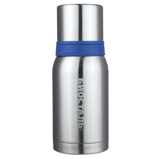 Термос Biostal Biostal Охота (0,75 литра) 2 чашки - стальной