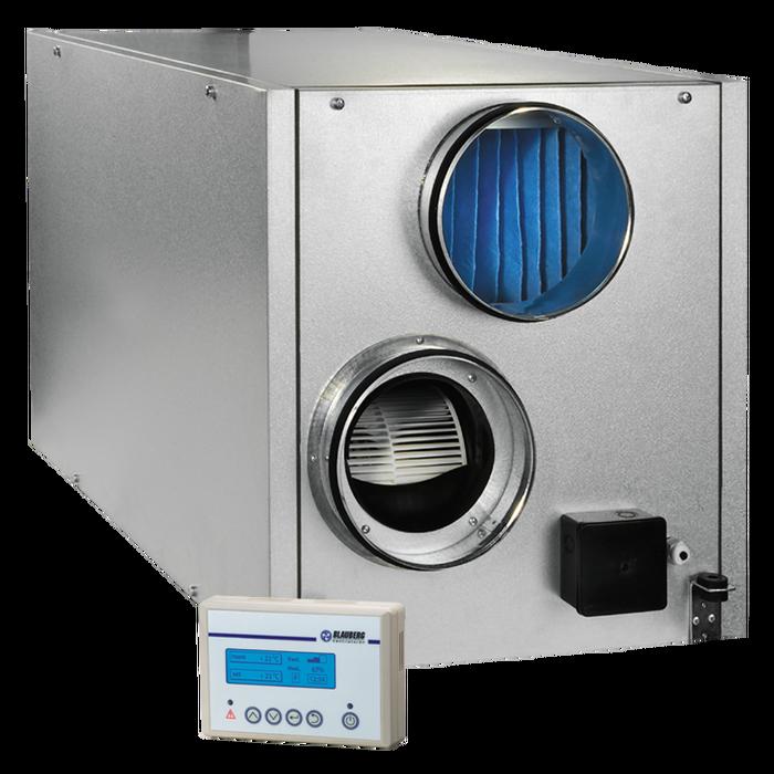 Приточно-вытяжная установка с электрическим нагревателем Blauberg KOMFORT LE800-9 S16 фото