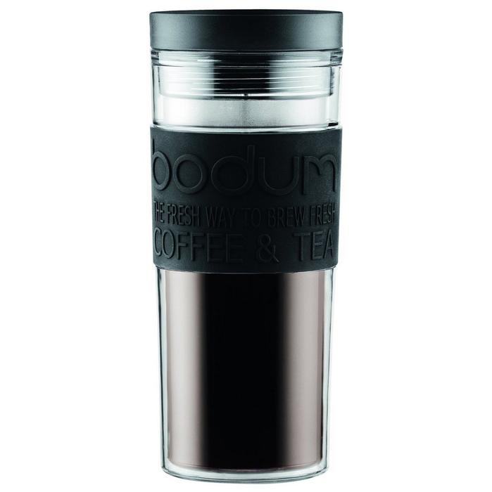 Купить Bodum Travel 0,45 л. черная n в интернет магазине. Цены, фото, описания, характеристики, отзывы, обзоры