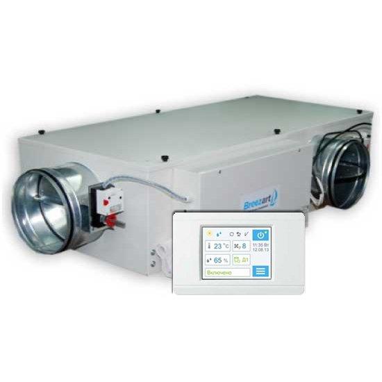 Приточная вентиляционная установка Breezart 1000 Mix 4,5 - 220/1 фото
