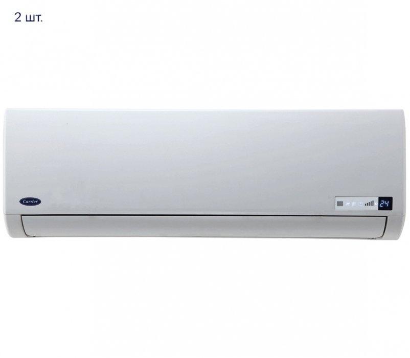 Купить Мульти сплит система на 2 комнаты Carrier 38QCT018713VG/42QCP007713VG*2шт в интернет магазине климатического оборудования
