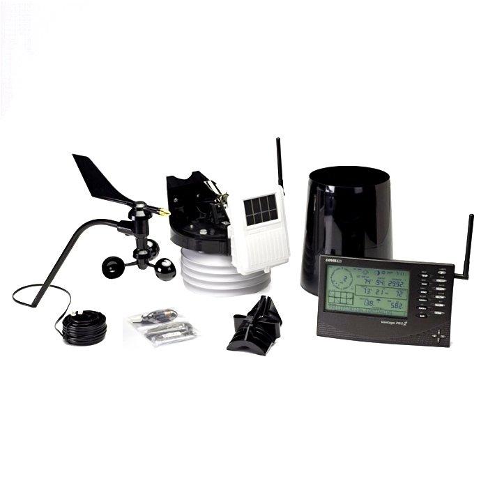 Купить Цифровая метеостанция с радиодатчиком Davis Instruments Vantage Pro2 6162EU в интернет магазине климатического оборудования