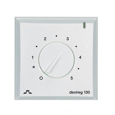 Терморегулятор для теплого пола Devi Devireg™ 130 с датчиком пола фото