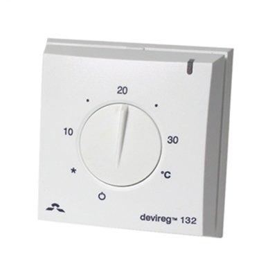 Терморегулятор для теплого пола Devi Devireg™ 132 с датчиком пола и воздуха фото