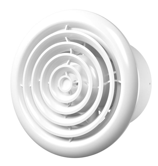 Вытяжка для ванной диаметр свыше 150 мм ERA FLOW 6 BB фото
