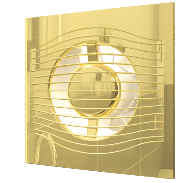 Вытяжка для ванной диаметр 125 мм DiCiTi SLIM 5C Gold фото