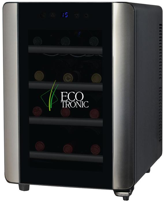 Отдельностоящий винный шкаф до 12 бутылок Ecotronic