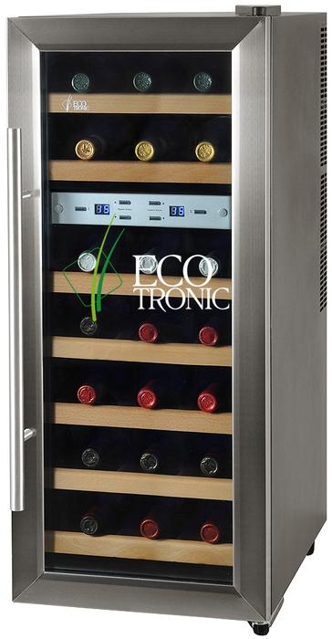 Отдельностоящий винный шкаф 12 21 бутылка Ecotronic