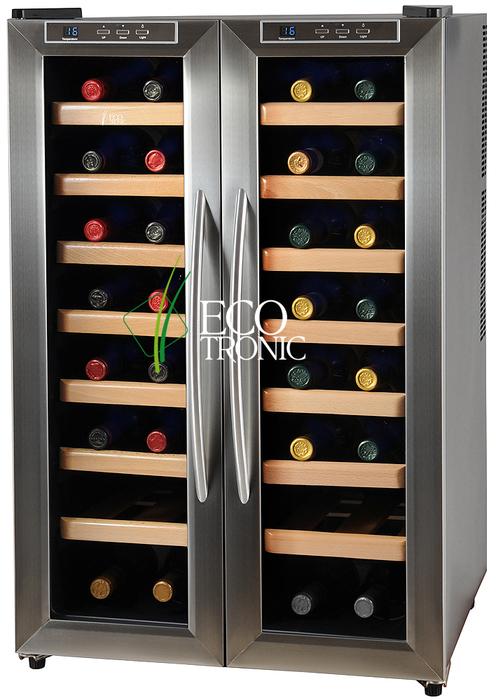 Отдельностоящий винный шкаф 22 50 бутылок Ecotronic