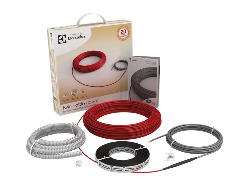 Нагревательный кабель 10 м<sup>2</sup> Electrolux ETC 2-17-1200 фото