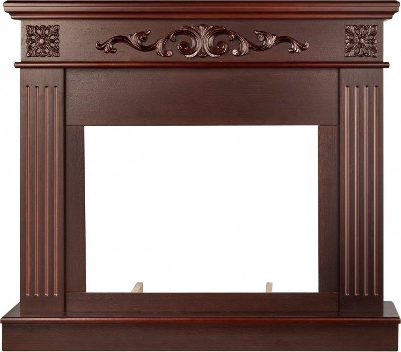 Деревянный портал для камина Electrolux Noce 25 Темный дуб