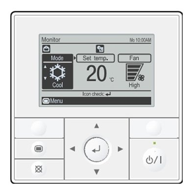 Купить Пульт управления General UTY-RVNGM в интернет магазине климатического оборудования