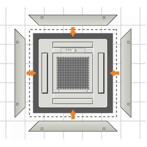 Дополнительные боковые панели Fujitsu UTGAGEAW фото