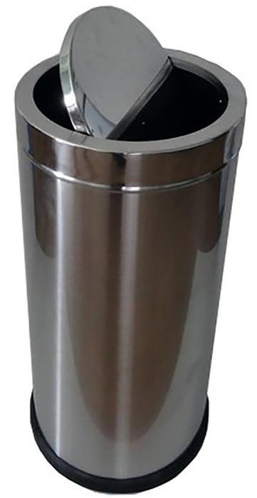 Фото - Урны для мусора G-teq G-teq Урна с качающейся крышкой 30 л урна для мусора лайма настольная с качающейся крышкой нержавеющая сталь матовая 601618