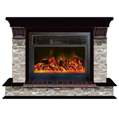 Купить Glenrich Панорама 28 (New flame) камень-Грот цветной/цвет-Дуб 46 в интернет магазине. Цены, фото, описания, характеристики, отзывы, обзоры