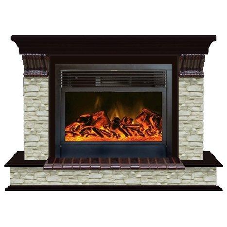 Купить Glenrich Панорама 28 (New flame) камень-Грот однотонный/цвет-Дуб 46 в интернет магазине. Цены, фото, описания, характеристики, отзывы, обзоры