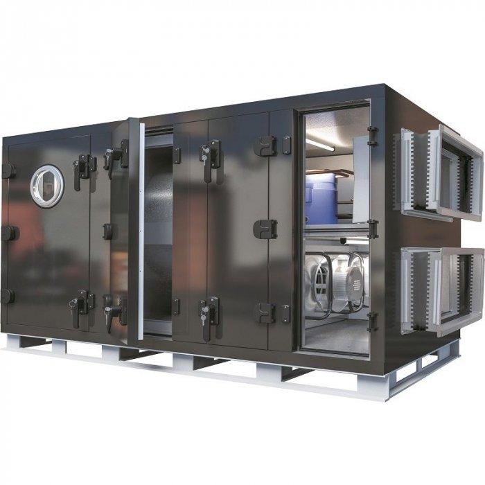 Приточно-вытяжная установка с электрическим нагревателем GlobalClimat Nemero 03 RX.1-HE-CW 2000 фото
