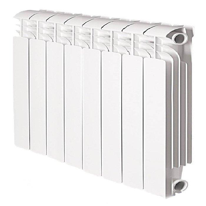Купить Алюминиевый радиатор Global Iseo 350 8 секц. в интернет магазине климатического оборудования