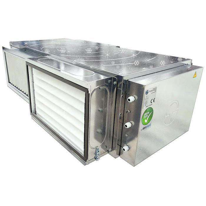 Приточно-вытяжная установка Globalvent Globalvent iСLIMATE-050+ E Модель L / R с электронагревателем