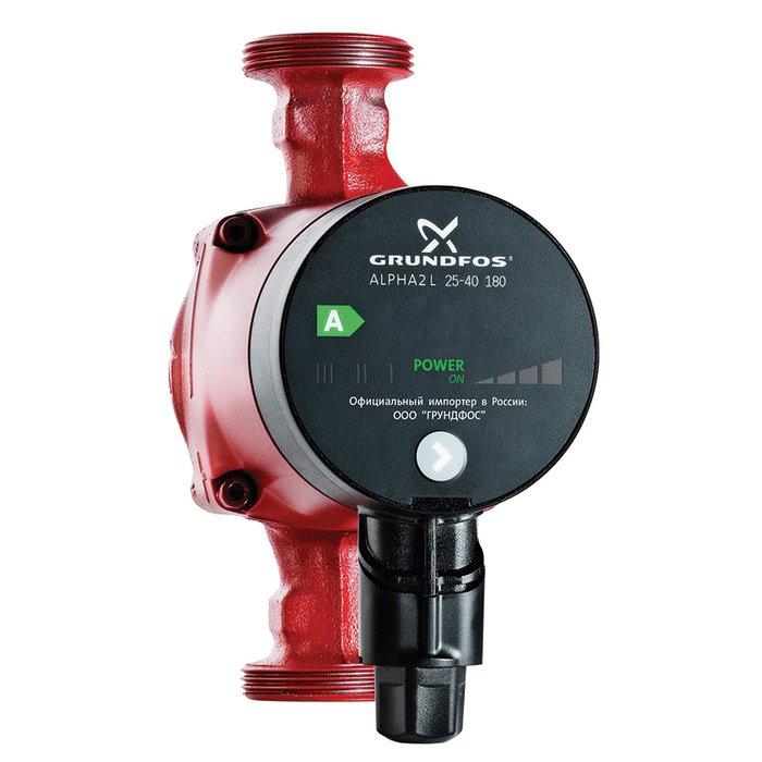 Купить Насос для отопления Grundfos ALPHA2 L 25-60 180 1x230V 50Hz 6H RU в интернет магазине климатического оборудования