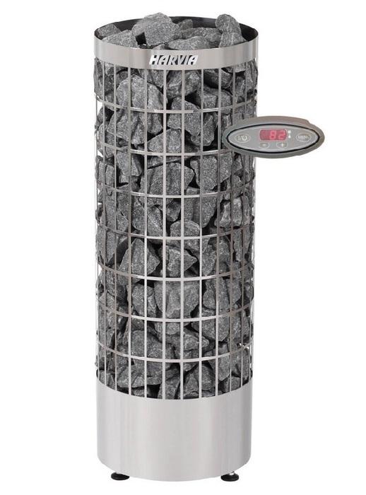 Электрическая печь HARVIA HARVIA Cilindro PC70EE, нержавеющая сталь (с выносным пультом в комплекте)