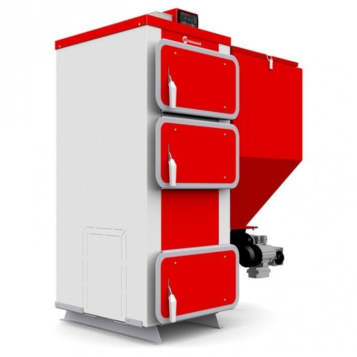 Купить Твердотопливный котел 40 кВт Heiztechnik Q Eko / Q Bio 45 кВт (Станд.горелка) в интернет магазине климатического оборудования