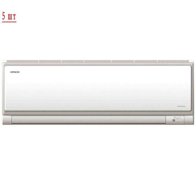 Мульти сплит система на 5 комнат Hitachi RAM-90QH5/RAK-18NH6AS*5 фото