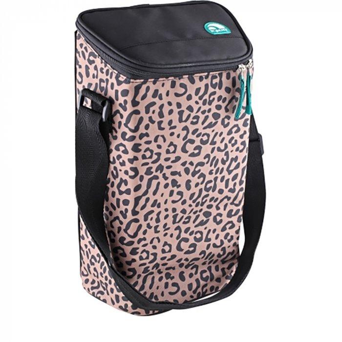Стильная сумка-холодильник Igloo Igloo 2 Bottle Wine Tote 16 leopard