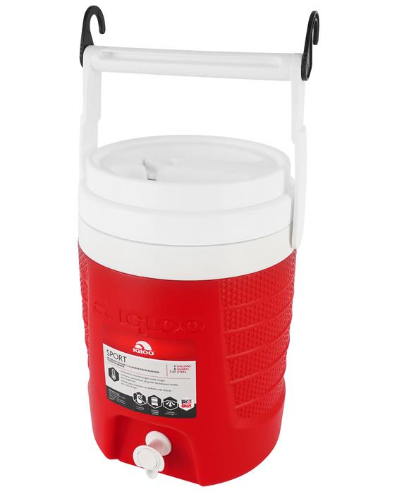 Изотермический контейнер для воды Igloo 2 Gal Sport red фото