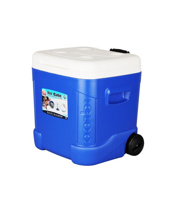 Изотермический пластиковый контейнер Igloo Ice Cube Maxcold 60 Roller фото