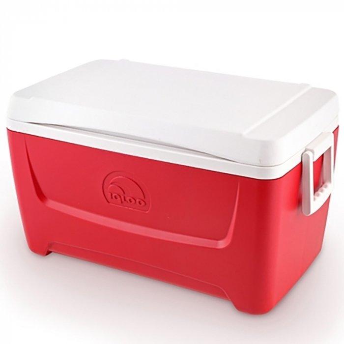 Пластиковая сумка - контейнер Igloo Island Breeze 48 red фото